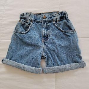 Vintage Levi's Orange Tag Paperbag Denim Shorts 4T